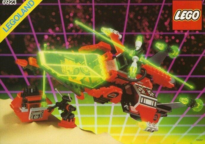 Lego SPACE M-Tron Particle Ionizer Set   6923 100% Complete