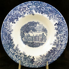 "ROMANTIC ENGLAND Wedgwood Queensware RIM SOUP BOWL 9"" NEW NEVER USED England"