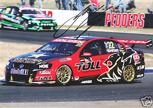 James-Courtney-Signed-6x4-or-8x12-Photo-PRINT-V8-Supercars-HRT-HOLDEN-TOLL