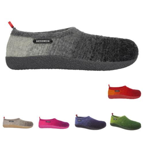 Giesswein Vahldorf Wool Slip-On Closed-Toe Warm Slippers Damen Schuhe