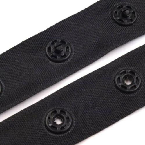 2,39 €//m 0,5m 2,40 €//m 5m 1,95 €//m 1m botón de presión banda aproximadamente 18mm-bodyband