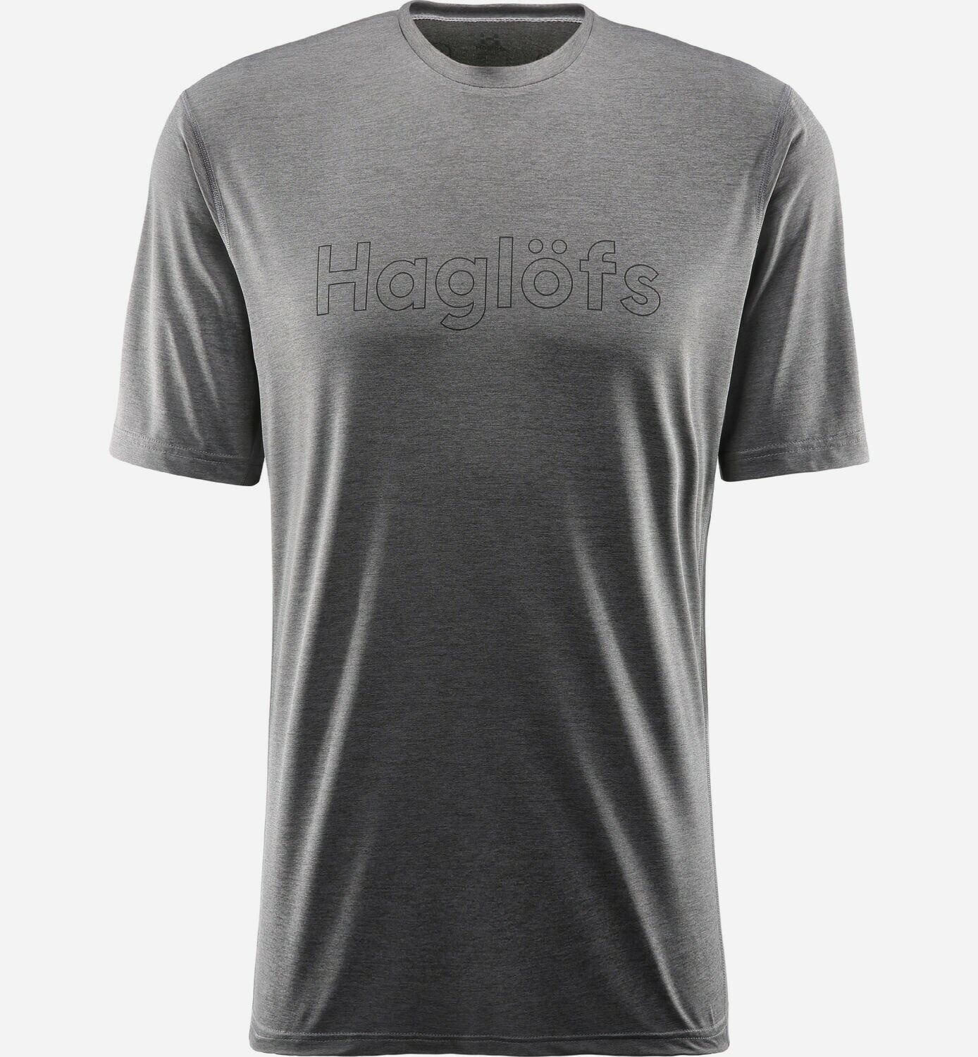 Haglöfs Ridge Tee  Men Very Light Function Shirt Mens Magnetite  we offer various famous brand