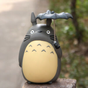 My Neighbor Totoro Studio Ghibli Totoro Umbrella Coin Piggy Bank Figure Gifts