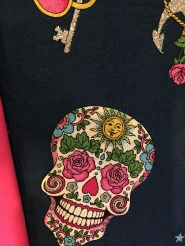 You Pick Size * Sugar Skull Anchor Heart Key Baby Infant Toddler Girls Dress
