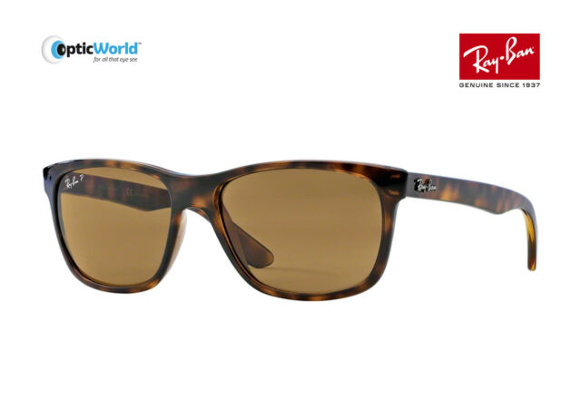 d90e4f70972 Ray-Ban Rb4181 - Light Havana Frame Polar Brown Lenses 57mm ...