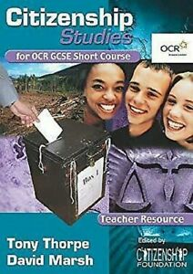 Citizenship-Studies-for-OCR-GCSE-Short-Course-by-Marsh-David-Thorpe-Tony