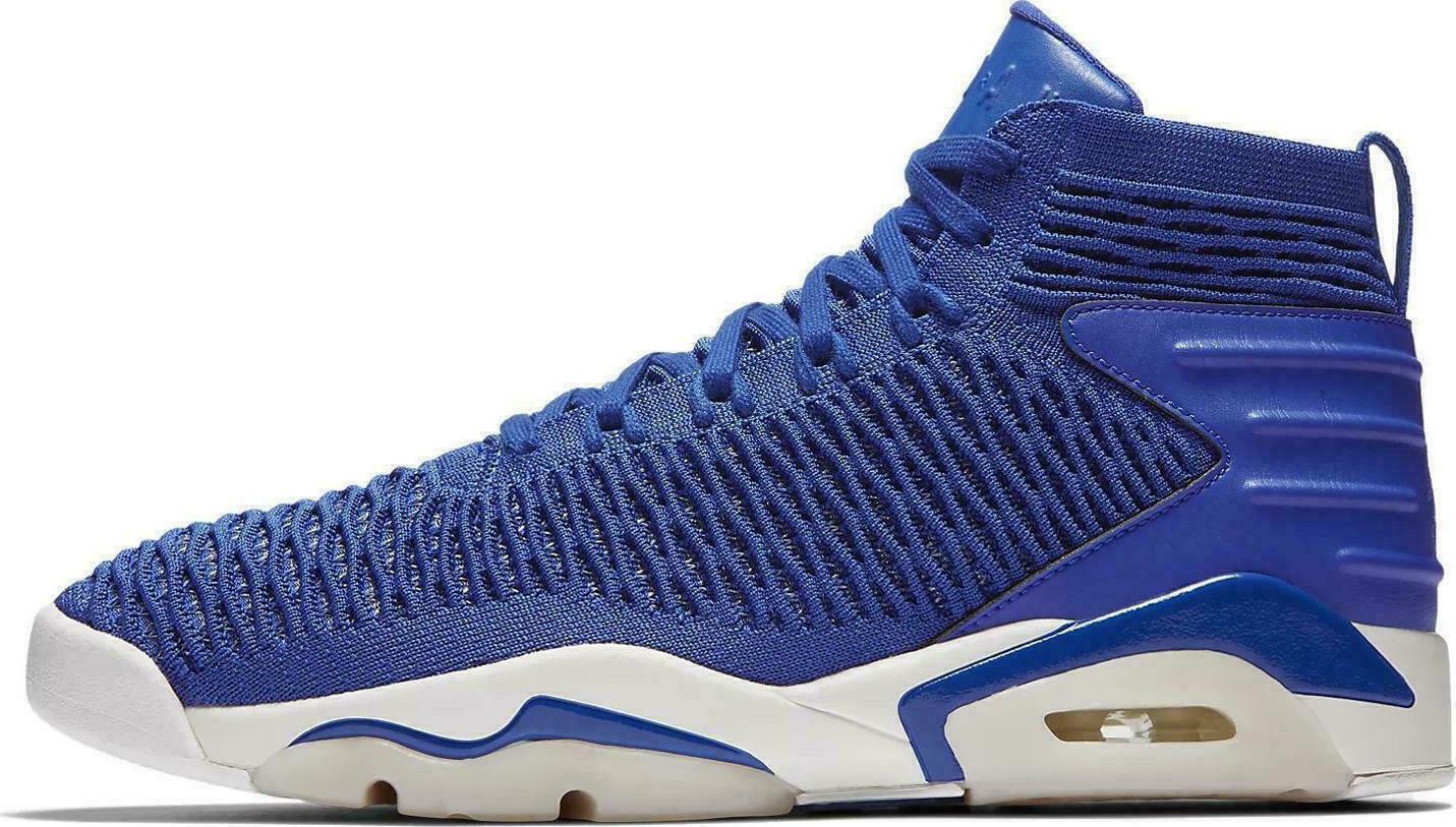 Jordan Flyknit Elevation 23 Royal AJ8207-401 hombres zapatos talla 10 Nuevo