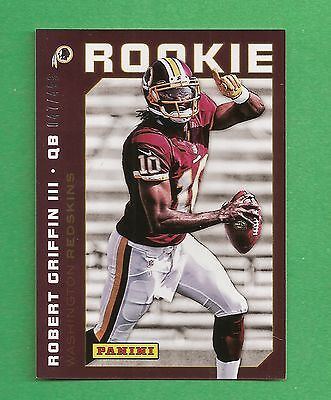 2012 Panini #22 National Convention ROBERT GRIFFIN III /499  Redskins
