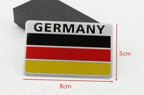 German Flag 3D Car Auto Truck Door Body Side Fender Emblem Metal ...