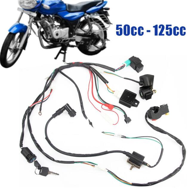 50cc - 125cc ATV Quad Dirt Bike Wiring Harness Loom Solenoid Coil Rectifier  CDI for sale online | eBayeBay