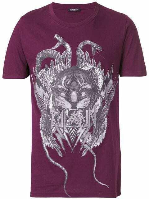 BALMAIN PARIS w7h8601i069 LUXURY LOGO SHIRT POLO Tshirt Tee Shirt M  420