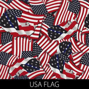 USA Flag Trump America Hydrographic Film dip stick hydro