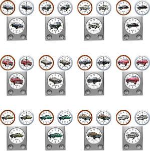 Reloj-de-pared-con-coche-Motivo-Borgward-automovil-EPOCA-classiccars