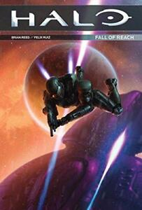 Halo-Fall-of-Reach-by-Val-Staples-Felix-Ruiz-Brian-Reed-NEW-Book-FREE-amp-FAS