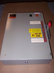 Eaton Dt363ugk Bp Adjustable Frequency Manual Transfer Switch 100 Amp 600v 3ph Ebay