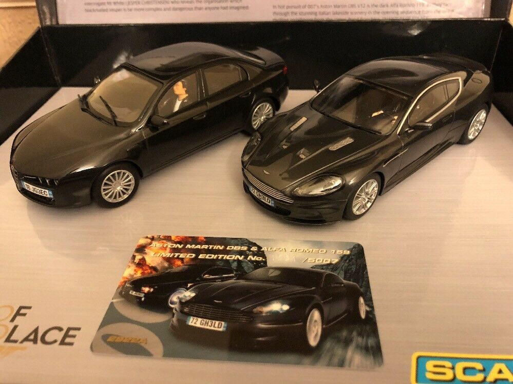 Scalextric Quantum of Solace 007 C2922A Limited Edition of 5007 Mint Condition