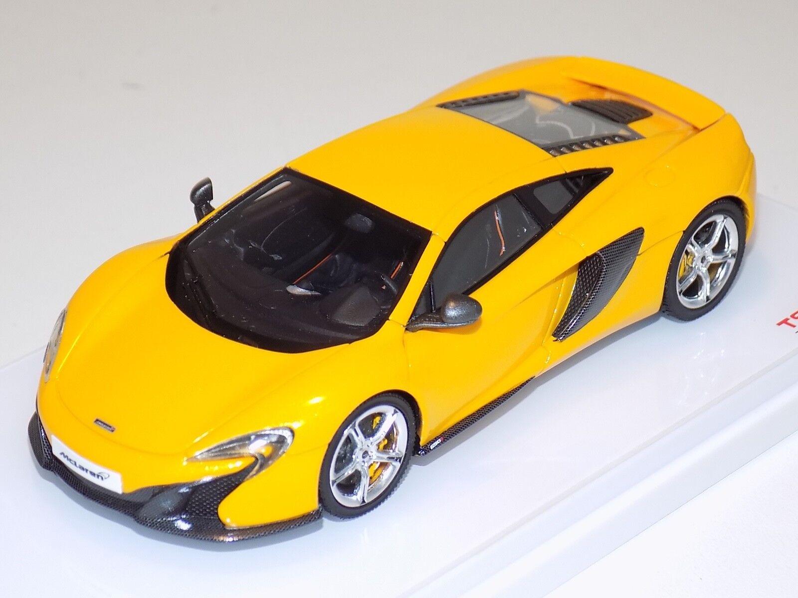 más vendido 1 43 True Scale TSM McLaren 650 S S S Coupe en amarillo desde 2015 LHD TSM144360  oferta especial