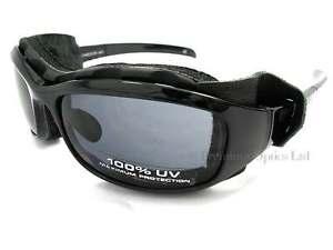 BLOC-extreme-sports-CHAMELEON-Sunglasses-Polished-Black-Dark-Grey-CAT-4-X400