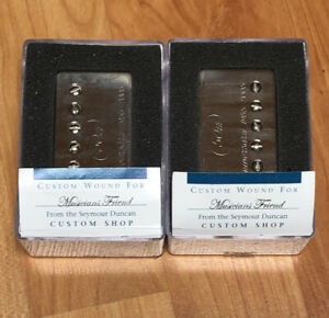 2005-50th-Anniv-Seymour-Duncan-Custom-Shop-Humbucker-Set-Nickel-Antiquity-PAF