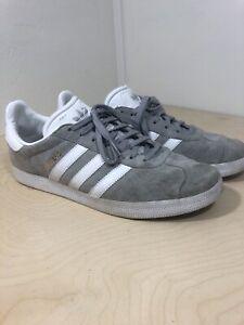 llegar Impedir brillante  Adidas Gazelle OG Original GREY White Suede Sneaker Shoes CQ0879 Womens  Size 10 | eBay
