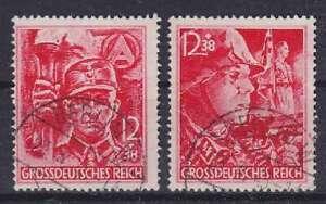 Dt. Empire Mi Nº 909, 910 Avec Faux Cachet Pas Contrôlées, 1945
