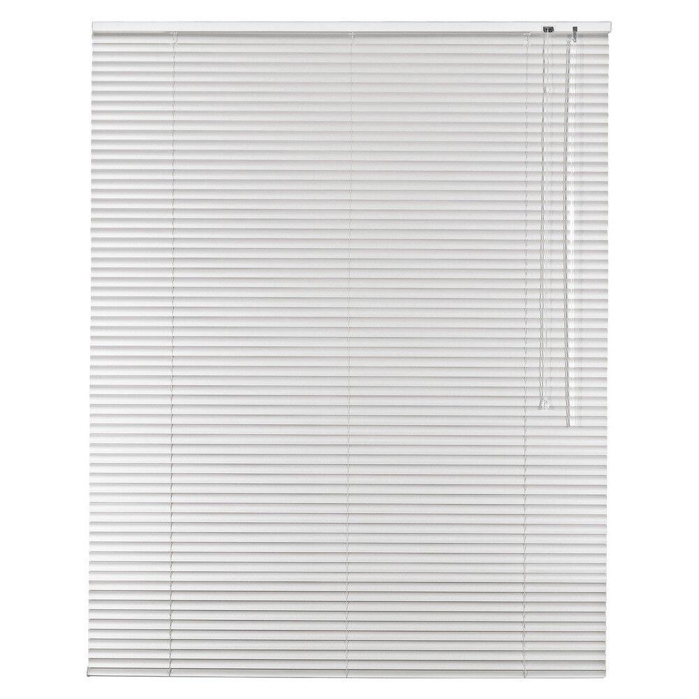 Aluminium Jalousie Alu Jalousette Jalusie Fenster Tür Rollo - Höhe 240 cm weiß