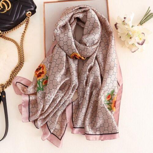 Silk SCARF Women Luxury Scarves 2020 new designer Large Long Shawl BANDANA