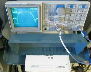 Tektronix 2710 Spectrum Analyzer with Tracking Generator TESTED! 10kHz to1.8GHz