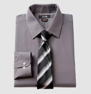 HOMME Noir Coupe Ajustée Aile Col En Coton Mélangé Robe De Mariage Cravate Noire Chemise