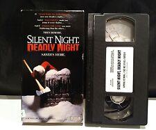 RARE Silent Night, Deadly Night (VHS) Horror Slasher Video Cassette Tape