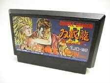 Famicom DOUBLE DRAGON II 2 THE REVENGE Cartridge Only Nintendo JAPAN Game fc *