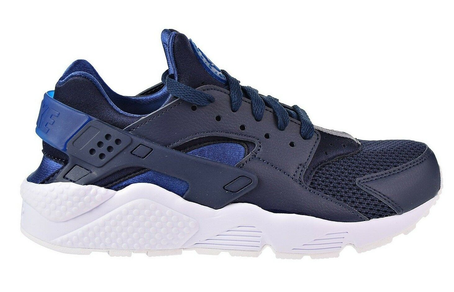 Nike running schuhe für männer air huarache obsidian weiße / fitness, blau - weiße obsidian 318429-420 c c255e8