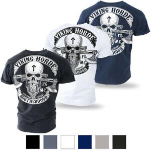 DOBERMANS-AGGRESSIVE-T-Shirt-Herren-Valhalla-Wikinger-Schaedel-Viking-Horde-TS212