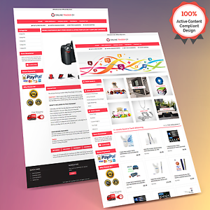 Mobile Responsive Ebay Store Design & Auction Listing Template ...