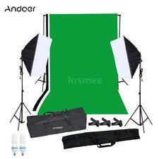 Andoer Studio Photography Softbox Lighting Kit Photo Video Equipment NEW I8H9