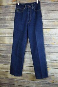 VTG 80s Sasson High Rise Jeans Straight Legs Waist 30