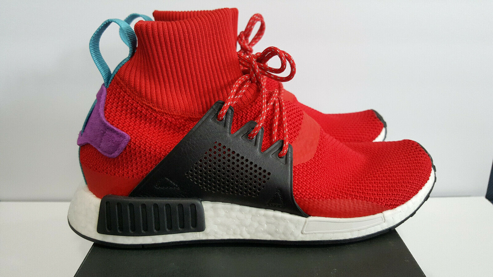 ADIDAS NMD XR1 Ankle Men's Size 10.5 US Red multi BZ0632