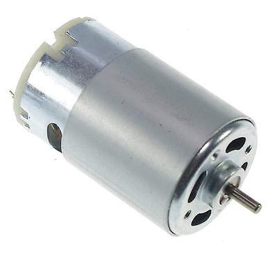 RS555 DC Hobby Motor Turbine Generator 12 V 6000 RPM High Torque