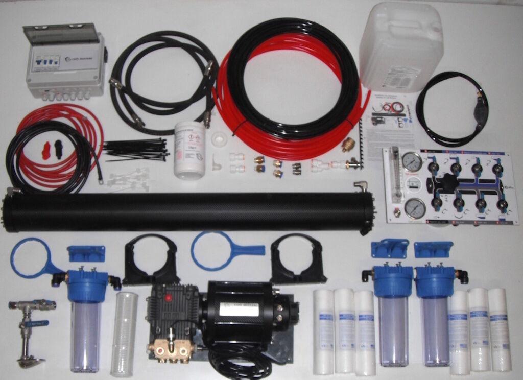 Wassermacher Wassermacher Umhang Mustang Explorer 1050 watts 110 l/Stunde 24V
