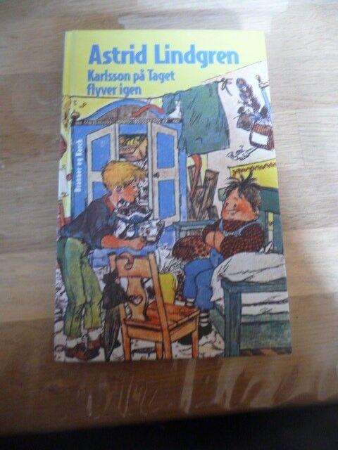 Karlsson på taget flyver igen, Astrid Lindgren