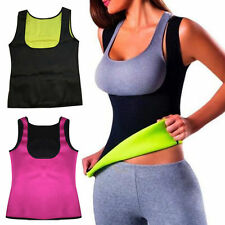 Hot Thermo Sweat Neoprene Body Shaper Slimming Waist Trainer Cincher Yoga Vest