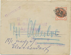 2427-QV-1-2d-vermilion-VF-re-directed-cvr-to-Germany-w-barred-cancel-034-E-C-32-034