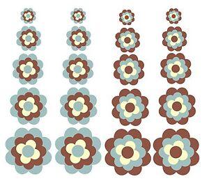 Blumen-Adesivo-Pril-fiore-Prilblumen-Fiori-retro-20-Pezzi-Set-Adesivi-per-auto