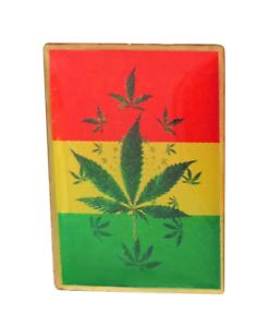 Marijuana Cannabis Leaf Enamel Pin Badge LAST FEW