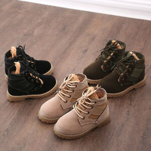 Kids-Baby-Children-Warm-Boys-Girls-Martin-Sneaker-Boots-Baby-Casual-Snow-Shoes