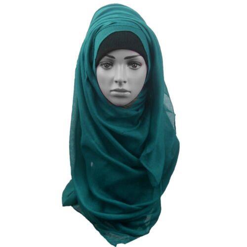 Big Large  Maxi Plain Viscose//Rayon Shawl Scarf Hijab Sisters// Islamic vsc