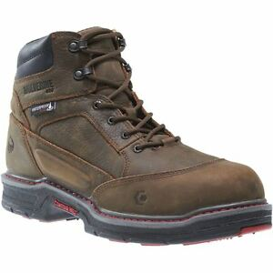 962cdc2cfb8 Details about Wolverine Boots Mens Overman Waterproof Insulated CarbonMax  6