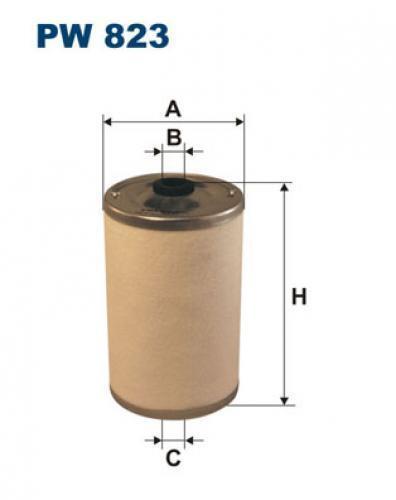 Filtron Kraftstofffilter PW823 für MERCEDES-BENZ CLAAS DEUTZ-FAHR RENAULT
