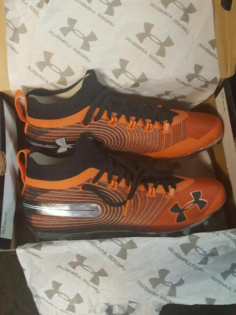 Spotlight MC Orange Cleats Size
