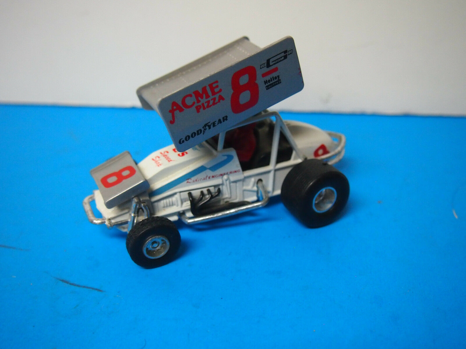 MC TOY SPRINT CAR WITH DRIVER  ACME PIZZA